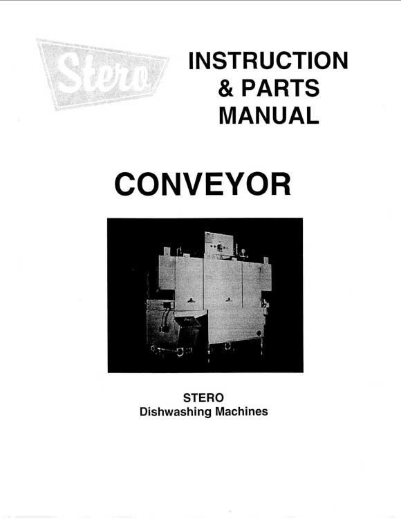 rack-conveyor-parts-manual