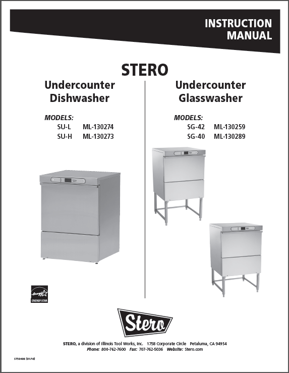 SU GW Cover Snip for website product manuals stero stero dishwasher wiring diagrams at gsmx.co